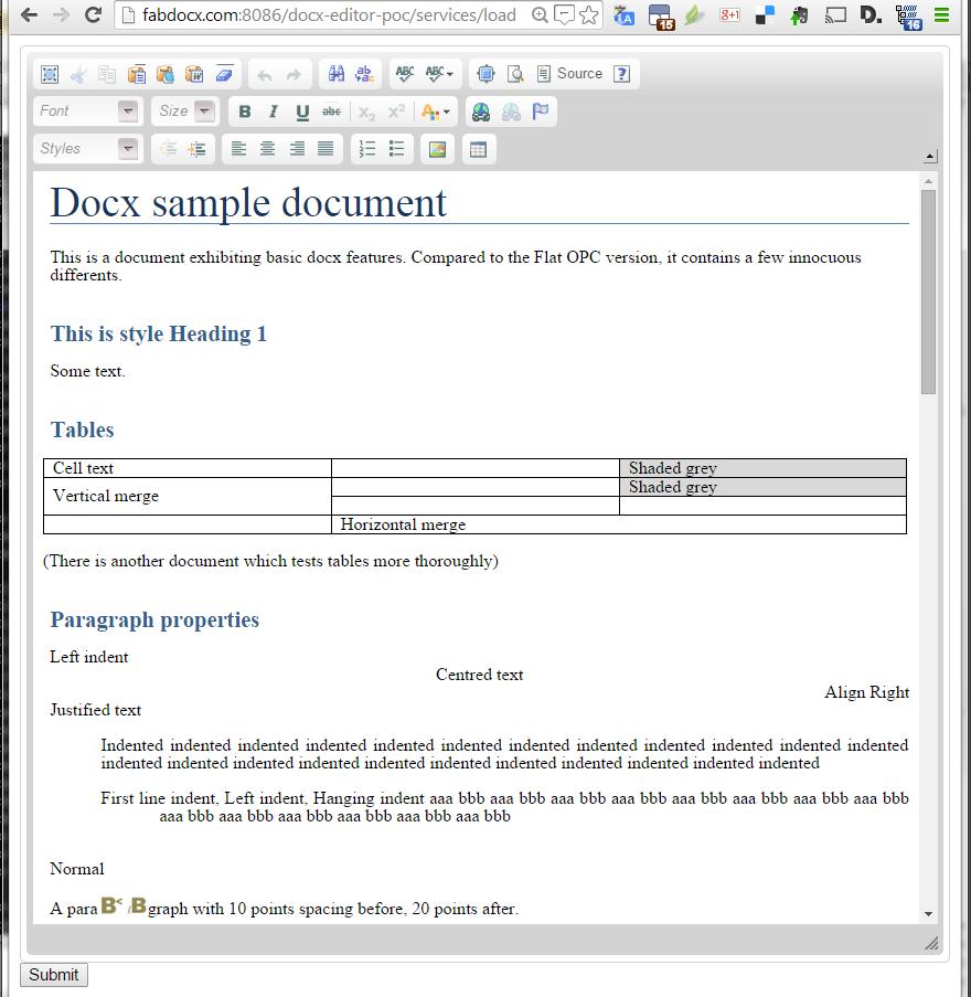 docx4java aka docx4j – OpenXML office documents in Java » docx